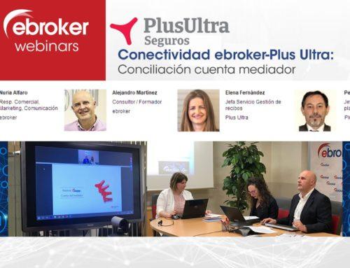 ebroker y Plus Ultra Seguros realizan webinar sobre Conciliación