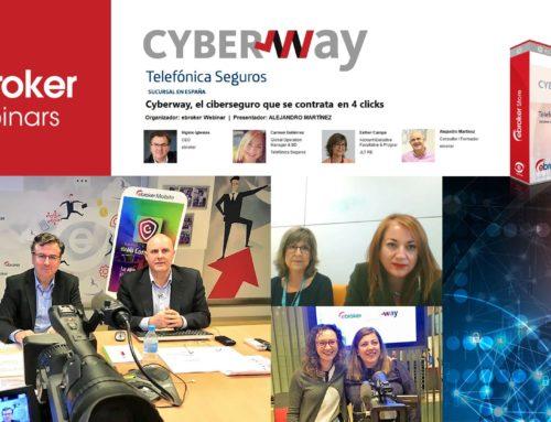 110 corredores participan en el seminario online de Cyberway
