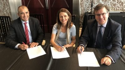 Juan Carlos Latorre, Cristina del Ama e Higinio Iglesias