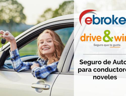 Disponible en ebroker el seguro de autos para noveles de drive&win
