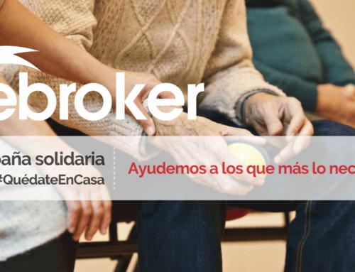 ebroker llama a la solidaridad con nuestros mayores frente a Covid-19