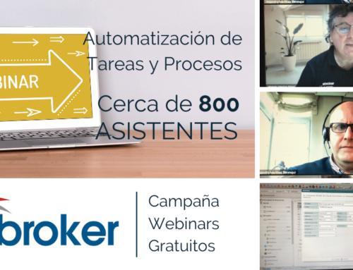 Automatización de tareas y procesos: Webinar con casi 800 asistentes