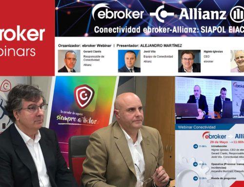 Más de 300 participantes en el seminario online sobre Siapol EIAC con Allianz