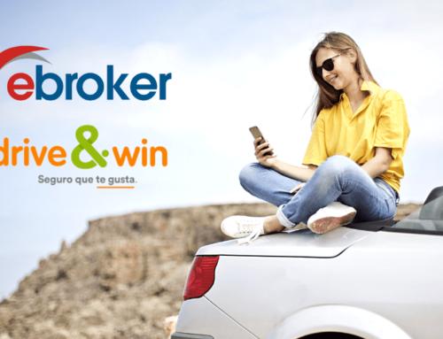 ebroker y drive&win se alían para comercializar seguros de automóvil