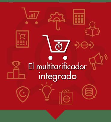 El multitarificador integrado