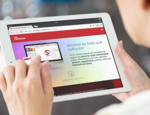 ebroker presenta su nueva web